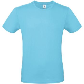 Vêtements Homme T-shirts manches courtes B And C E150 Bleu clair