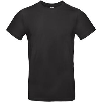 Vêtements Homme T-shirts manches courtes B And C E190 Noir