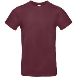 Vêtements Homme T-shirts manches courtes B And C E190 Bordeaux