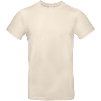 Vêtements Homme T-shirts manches courtes B And C E190 Beige clair