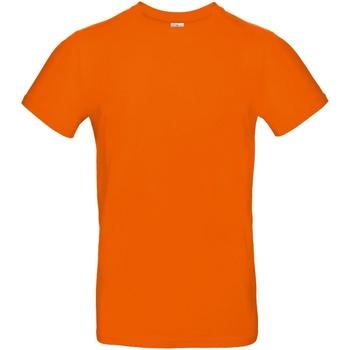 Vêtements Homme T-shirts manches courtes B And C TU03T Orange