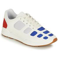 Chaussures Homme Baskets basses Le Coq Sportif ZEPP Blanc / Bleu / Rouge