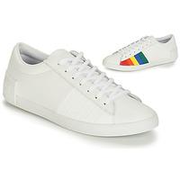 Chaussures Femme Baskets basses Le Coq Sportif FLAG Blanc / Multicolore