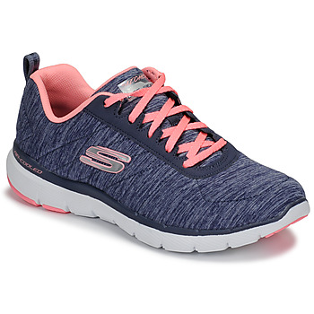 0dc2b84ded4 Chaussures Femme Fitness   Training Skechers FLEX APPEAL 3.0 Marine   Rose