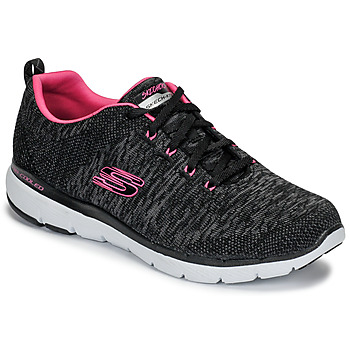 check out 7034a 1862c Chaussures Femme Fitness   Training Skechers FLEX APPEAL 3.0 Noir   Rose