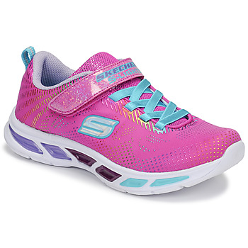 1865e65c990 Chaussures Fille Baskets basses Skechers LITEBEAMS Rose