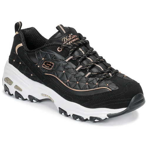 Skechers Baskets Basses Femme 2019 Magasin Noir