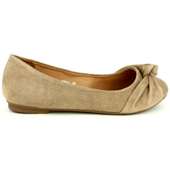 Chaussures Femme Ballerines / babies Cendriyon Ballerines Taupe Chaussures Femme Taupe