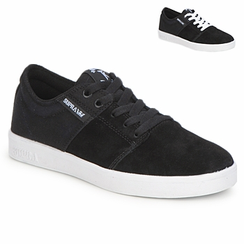 Baskets mode Supra STACKS II Noir / Blanc 350x350