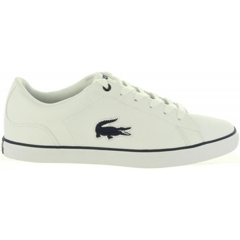 Chaussures Fille Baskets basses Lacoste 36CAJ0013 LEROND Blanco
