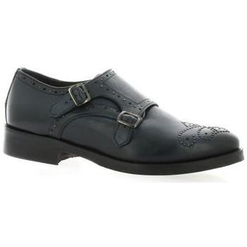 Chaussures Femme Derbies Pao Derby cuir Bleu