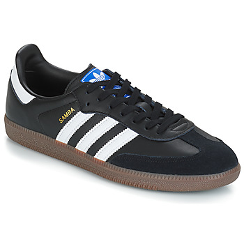 Chaussures Baskets basses adidas Originals SAMBA OG Noir / Blanc