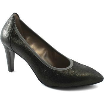 Chaussures Femme Escarpins Melluso D5142 fumée chaussures femme anthracite décollet bout en cuir e Grigio