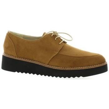 Chaussures Brenda Zaro Derby cuir velours