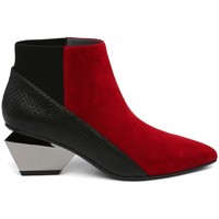 Chaussures Femme Bottines United nude Bottines- Rouge
