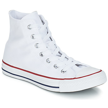 c9653b64ee6ff Chaussures Baskets montantes Converse CHUCK TAYLOR ALL STAR CORE HI Blanc  Optical