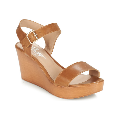 Betty London CHARLOTA Beige - Livraison Gratuite avec  - Chaussures Sandale Femme