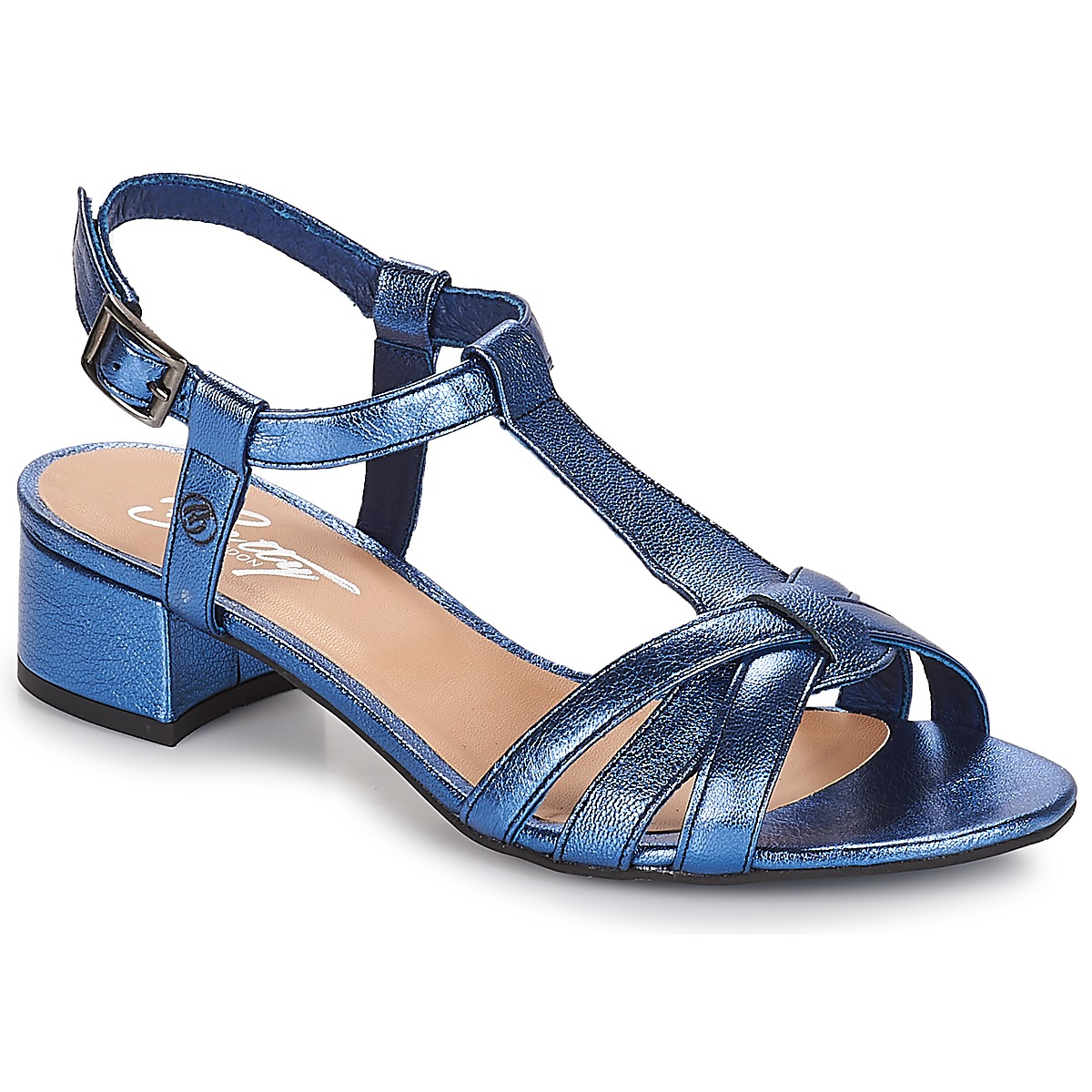 Sandale Betty London METISSA Bleu