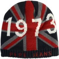 Accessoires textile Enfant Bonnets Pepe jeans Bonnet  Intar Beanie Noir