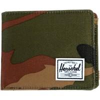Sacs Portefeuilles Herschel Porte Feuille Roy + Coin RFID Vert