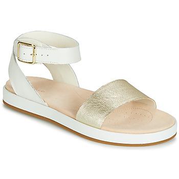 58771fdeb88 Chaussures Femme Sandales et Nu-pieds Clarks BOTANIC IVY Blanc