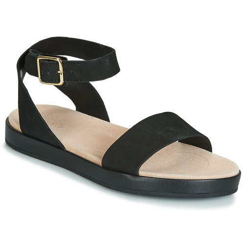 30f585402ea47e Chaussures Femme Sandales et Nu-pieds Clarks BOTANIC IVY Noir
