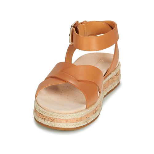 Botanic Clarks Marron Poppy Sandales Nu pieds Et Femme 8P0Onwk