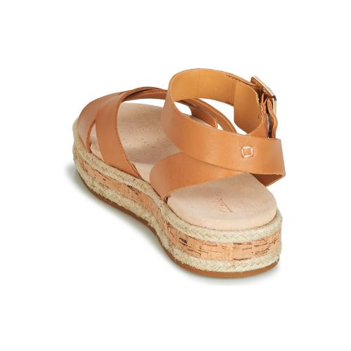 Femme Marron Botanic Et Sandales Poppy Clarks Nu pieds MUzVSqpG