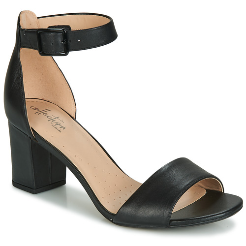 Chaussures Femme Sandales et Nu-pieds Clarks DEVA MAE Noir
