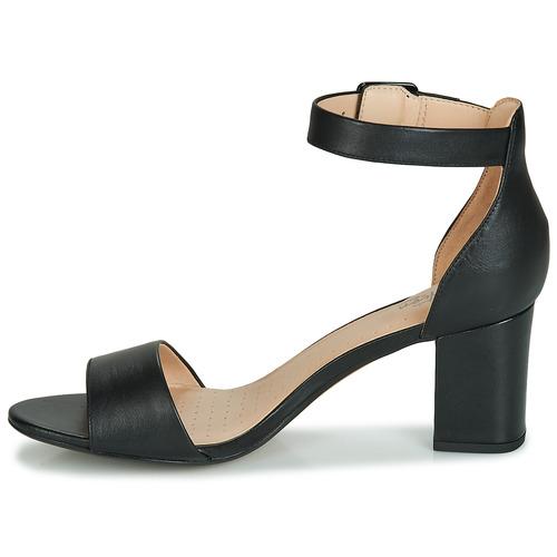Femme Sandales Mae Nu pieds Clarks Chaussures Et Noir Deva 1lFKcJ