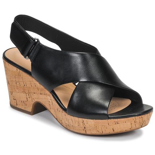 Chaussures Femme Sandales et Nu-pieds Clarks MARITSA LARA Noir