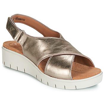 Chaussures Femme Sandales et Nu-pieds Clarks UN KARELY SUN Doré