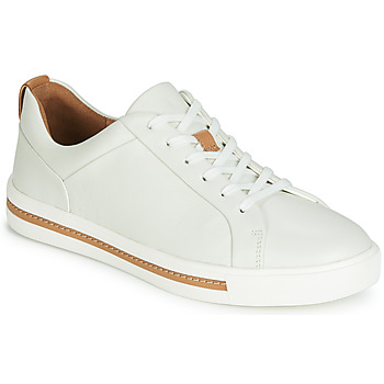 best cheap 71646 8596e Chaussures Femme Baskets basses Clarks UN MAUI LACE Blanc