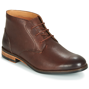 c945b16c804 Chaussures Homme Boots Clarks FLOW TOP Marron