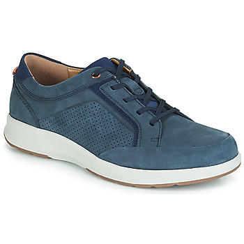 Chaussures Homme Baskets basses Clarks UN TRAIL FORM Marine