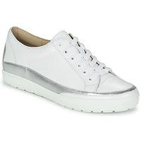 Chaussures Femme Baskets basses Caprice BUSCETI Blanc / Argent