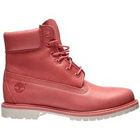 Chaussures Femme Boots Timberland 6 Inch Premium Rose