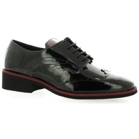 Chaussures Femme Derbies So Send Derby cuir vernis Noir