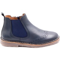 Chaussures Enfant Boots Boni Classic Shoes Boots de style anglais en cuir à zip - MALO Bleu Marine