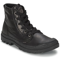 Chaussures Homme Boots Palladium PAMPA HI LEATHER Noir