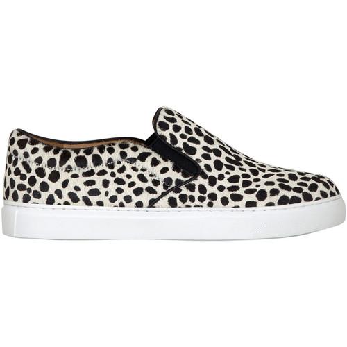 Chaussures Femme Slip ons Kesslord KOOL KESKATE_PAN_BL Blanc