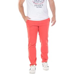 Vêtements Homme Chinos / Carrots Ruckfield Pantalon Chino Rouge Rouge
