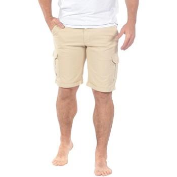 Vêtements Homme Shorts / Bermudas Ruckfield Bermuda cargo beige Beige