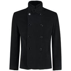 Vêtements Manteaux De La Creme Blazer formel / décontracté de luxe pour homme Black