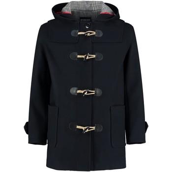 Vêtements Manteaux De La Creme Abrigo de Lana avec capucha d'invierno Black