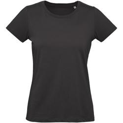 Vêtements Femme T-shirts manches courtes B And C Inspire Noir