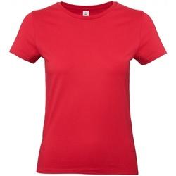 Vêtements Femme T-shirts manches courtes B And C E190 Rouge