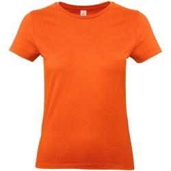 Vêtements Femme T-shirts manches courtes B And C E190 Orange