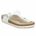 Chaussures Tongs Birkenstock GIZEH Blanc