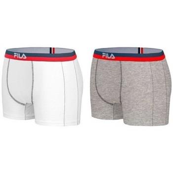 Sous-vêtements Homme Boxers Fila BICOLX2 Gris